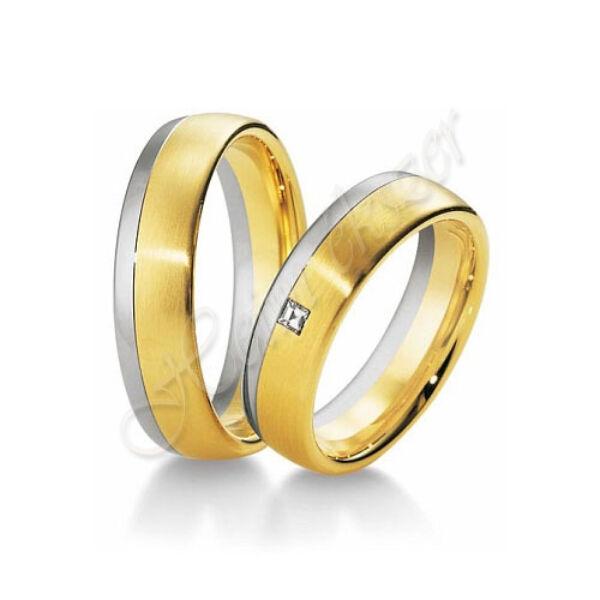 Arany ékszer, egyedi karikagyűrű 23