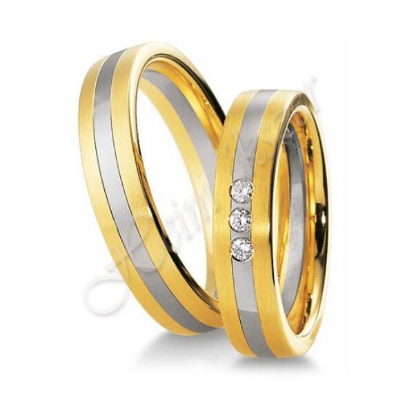 Arany ékszer, egyedi karikagyűrű 25