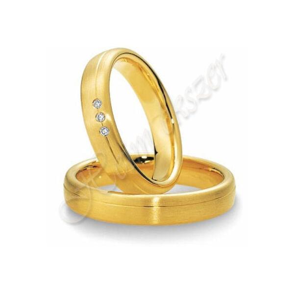 Arany ékszer, egyedi karikagyűrű 14
