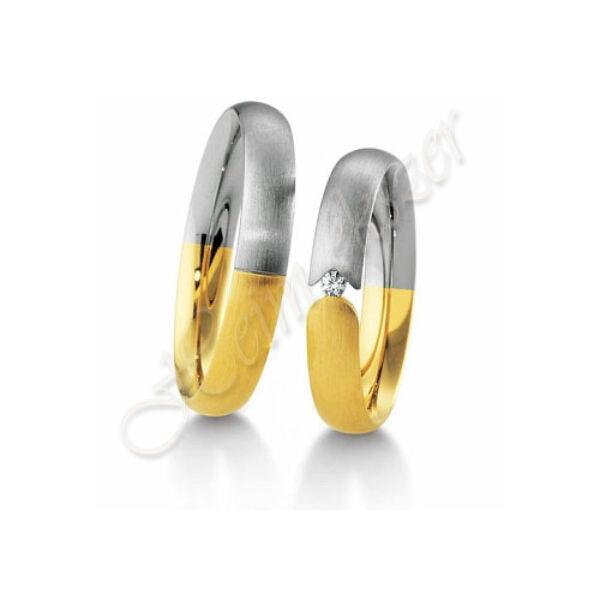 Egyedi karikagyűrű,arany ékszer 09