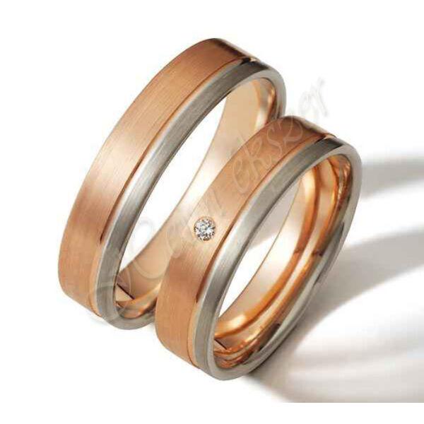 Arany ékszer, egyedi karikagyűrű  43