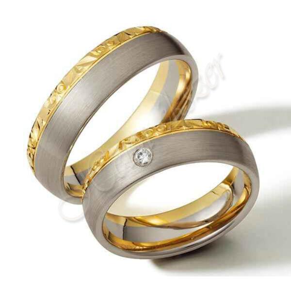 Arany ékszer, egyedi karikagyűrű  46