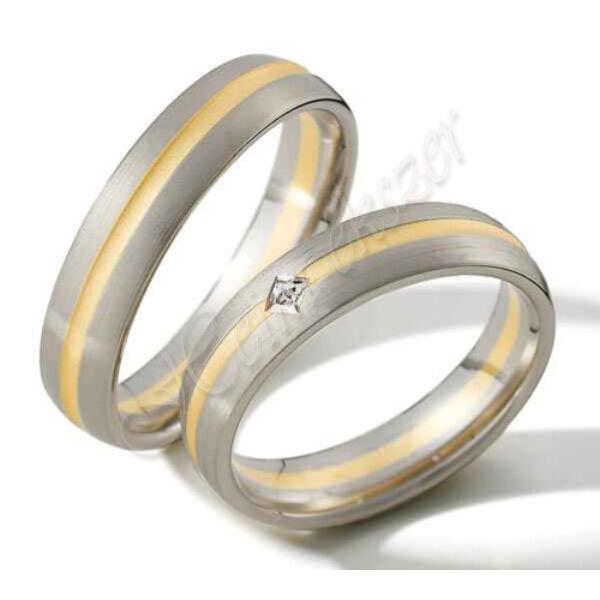 Arany ékszer, egyedi karikagyűrű  47