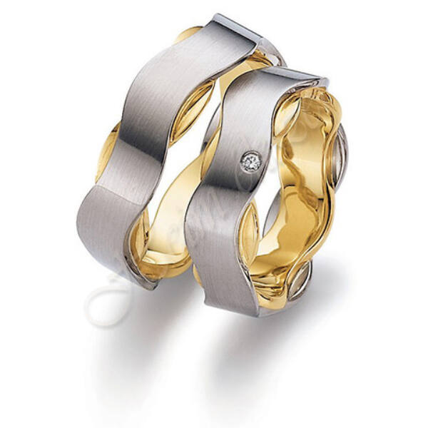 Arany ékszer, egyedi karikagyűrű 60