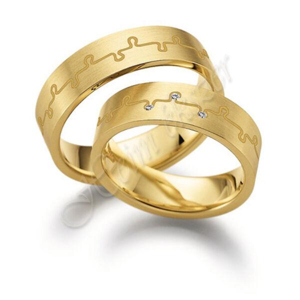 arany ékszer, egyedi karikagyűrű 66
