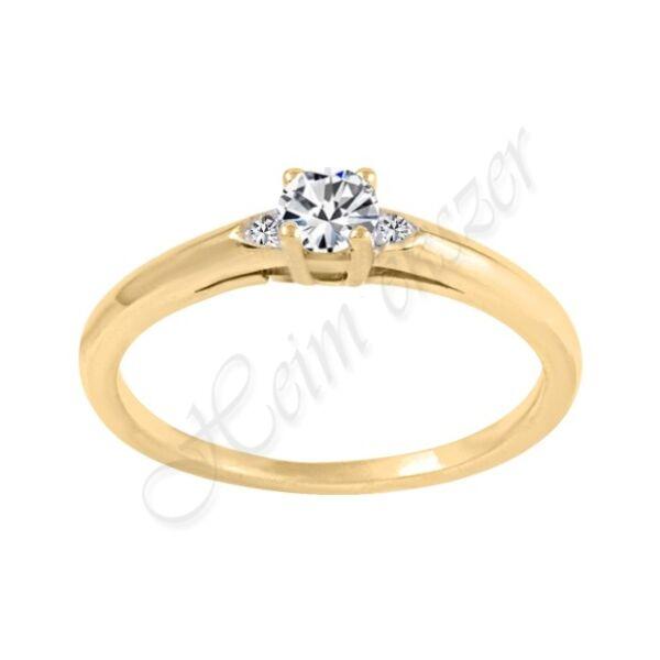 Köves gyűrű, arany ékszer Heim Ékszer Webáruház