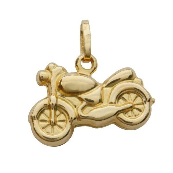 Motor medál, arany ékszer