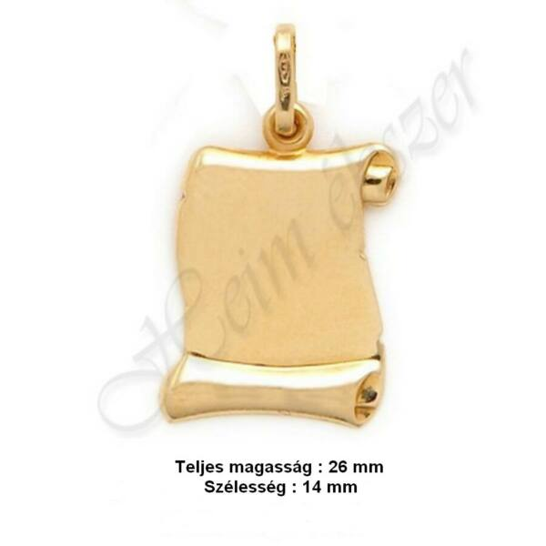 pergamen-papirusz-tekercs-medal-nagy-meret-arany-heim-ekszer-webaruhaz