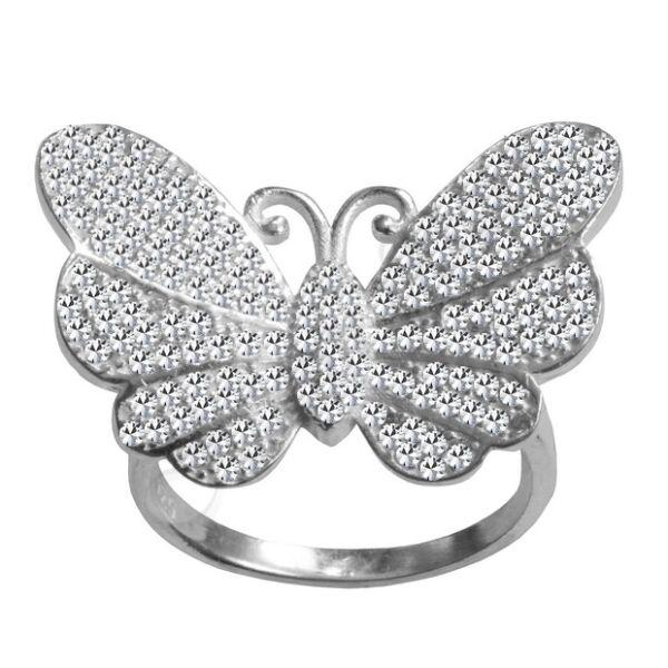 Pillangó gyűrű Heim Ékszer webáruház