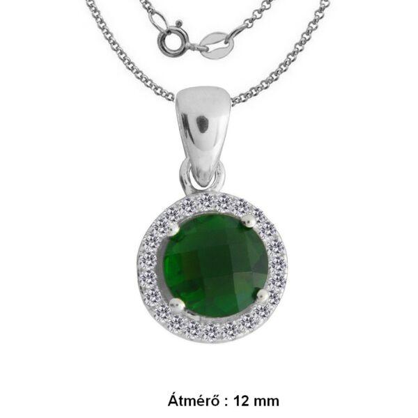 smaragd-zold-koves-ezust-medal-nyaklanccal-ezust-heim-ekszer-webaruhaz