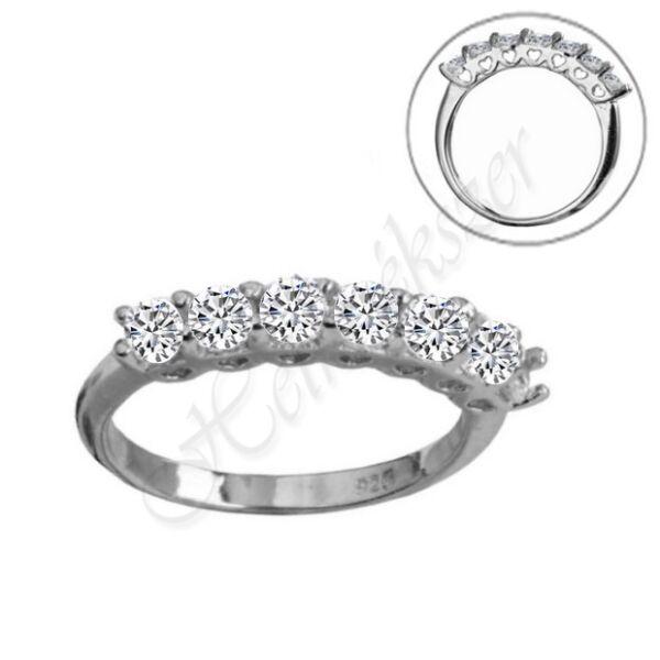 Sorköves ezüst gyűrű Heim Ékszer webáruház