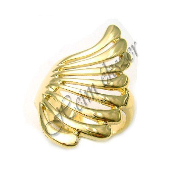 Széles arany gyűrű, arany ékszer minden méretben
