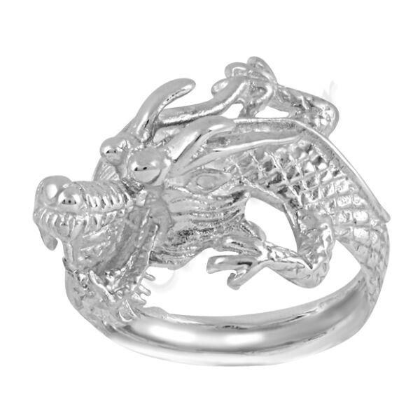 Sárkány gyűrű Heim Ékszer webáruház