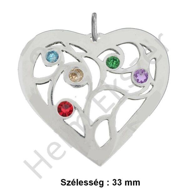 sziv-medal-nyaklanccal-valaszthato--heim-ekszer-webaruhaz