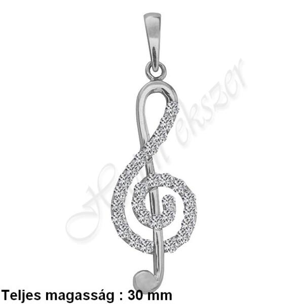 violinkulcs_medal_feher_arany_heim_ekszer_webaruhaz