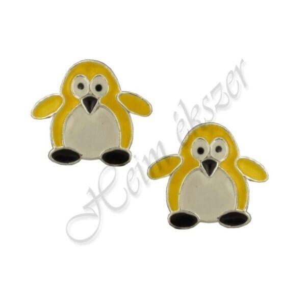 zomancozott-pingvin-fulbevalo-sarga